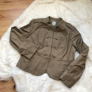 Halogen Military Style Jacket